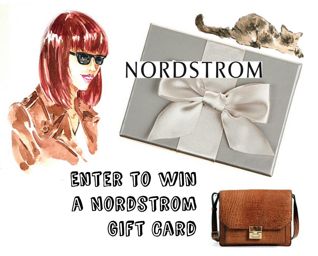 Enter to Win a $25 Nordstrom Gift Card