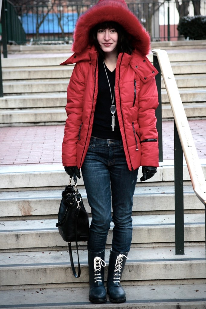 lace up snow boots, topshop sno jacket
