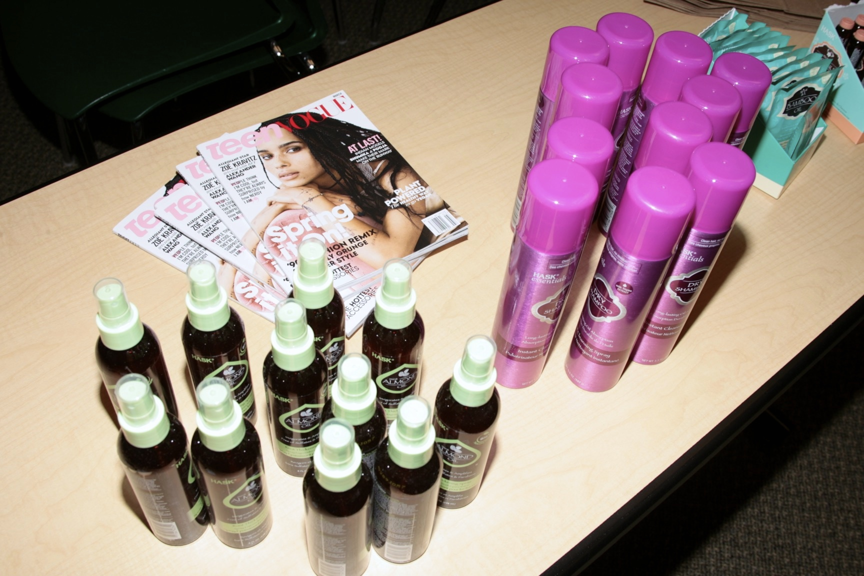 Teen Vogue X Hask Hair Party