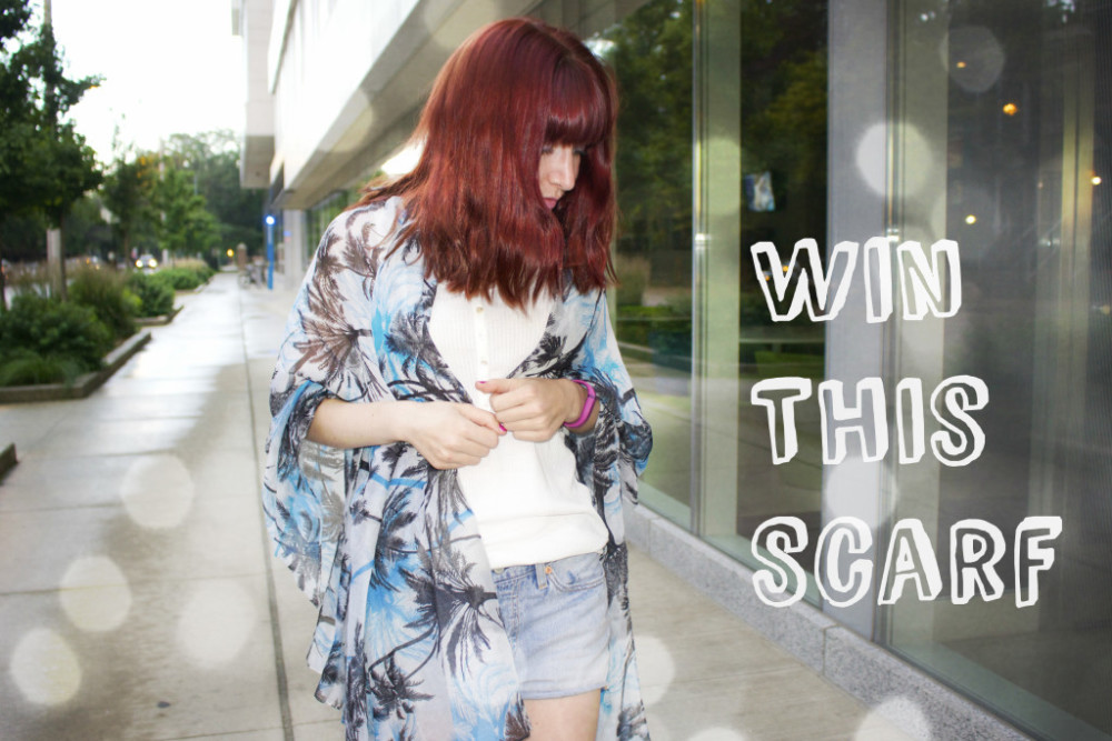 contest win a scarf