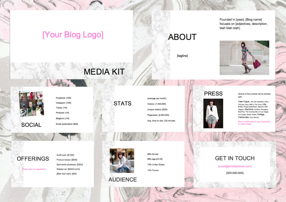 Introducing Our Etsy Shop for Bloggers
